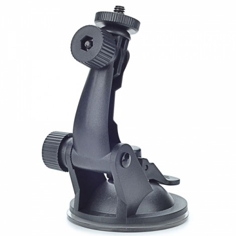 Universal Mini PC Car Swivel Mount Holder for Camera Black