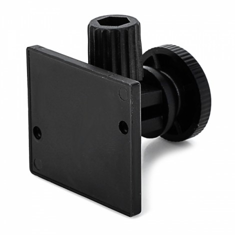 """H001 Newest Mini 170-Degree Rotatable Car Mount Holder with 1/4"""" Screw Interface & Adhesive Tape for GPS/Digital Camera Black"""