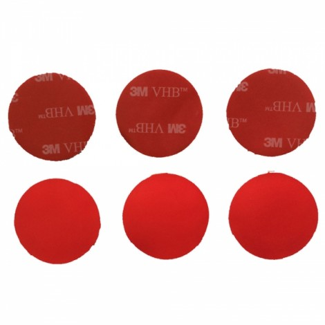 32mm Waterproof Durable Super Glue + 3M Sticker Pack for GoPro Hero 3/3 +/2/1 Red