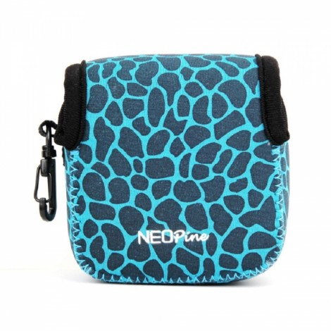 NEOpine Mini Protective Neoprene Camera Case Bag for GoPro Hero 2 / 3 / 3+ / 4 Blue