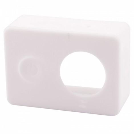 G-848 Protective Silicone Shell Case for Xiaomi Xiaoyi Digital Camera White
