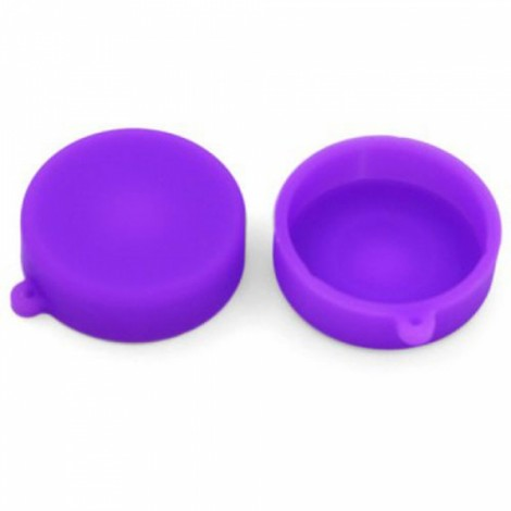 Silicone Lens Protective Cap for XiaoMi Yi Sports Camera Purple