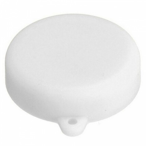 Silicone Lens Protective Cap for XiaoMi Yi Sports Camera White
