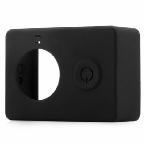 Protective Silicone Case for Xiaomi Xiaoyi Sports Camera Black