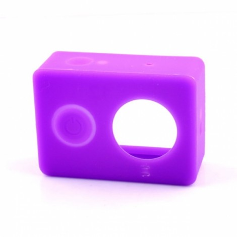 Protective Silicone Case for Xiaomi Xiaoyi Sports Camera Purple