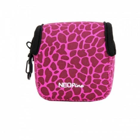 NEOpine Mini Protective Neoprene Camera Case Bag for GoPro Hero 2 / 3 / 3+ / 4 Pink