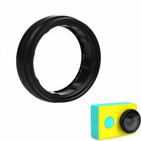 Camera Lens Protector UV Filter for Xiaomi Yi Action Sports Camera Black