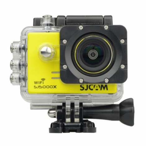 SJCAM SJ5000X Elite Edition 1080P 4K Wi-Fi Waterproof Action Camera Digital Video Camcorder Yellow
