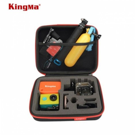 KingMa Portable Camera Storage Bag for GoPro 3 / 3+ / 4 / Xiaomi Yi Action Camera