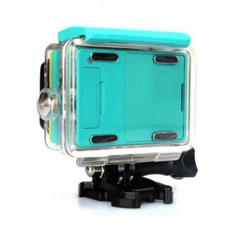 Kingma 60M Diving External Backup Waterproof Cover Case Housing for Xiaomi Xiaoyi Yi Action Sports Camera Green