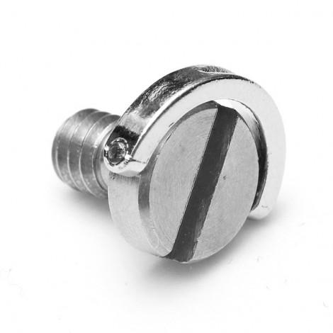 """1/4"""" Stainless Steel D-Ring Screw for Camera Tripod Monopod Silver"""
