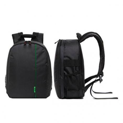 Tigernu T-C6003 Rain Proof Backpack DSLR Camera Lens Case Bag Rucksack for Canon Nikon Camera Black & Green