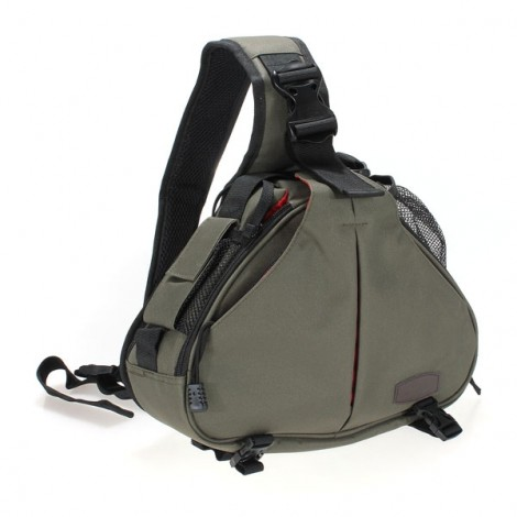 Standard Caden K1 Triangle Shoulder Camera Bag Army Green