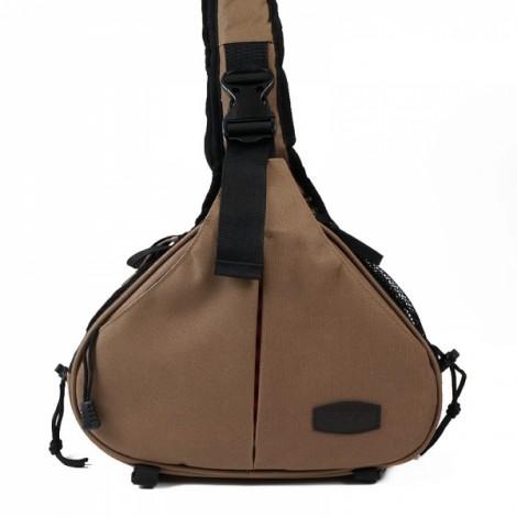 Standard Caden K1 Triangle Shoulder Camera Bag Coffee