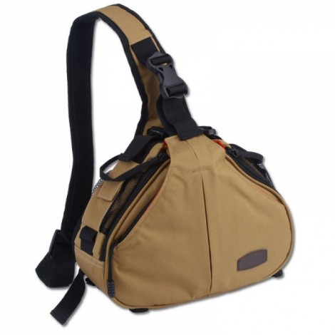 Standard Caden K1 Triangle Shoulder Camera Bag Khaki