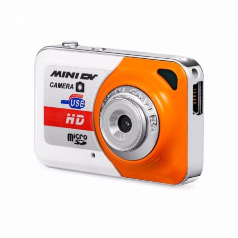 X6 Mini DV DVR Camera Recorder Video Camera Sports DV / Camera Orange