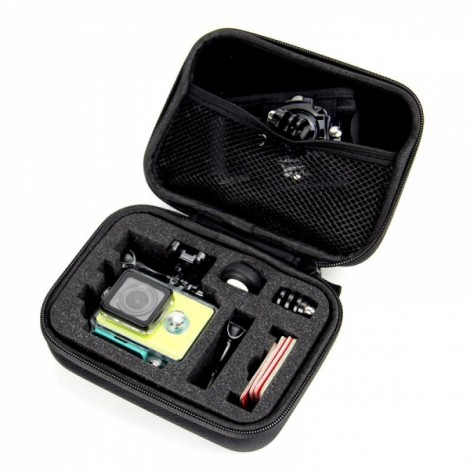 Waterproof Hard EVA Carrying Box Bag Case for Xiaomi Yi SJ4000 SJcam Black S