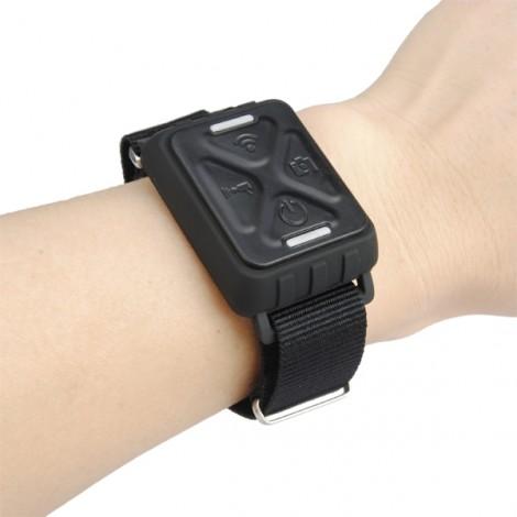Wireless Wrist Remote Control Watch for GIT1 GIT2 Sport Camera Black