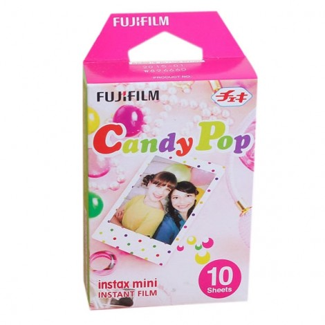 10 Sheets Fujifilm Instax Mini 8 Film Candy Dots Photo Papers for Instax Mini 8 7s 20 25 50s 90 Camera