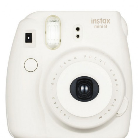 Fujifilm Instax MINI 8 White Instant Film Camera White