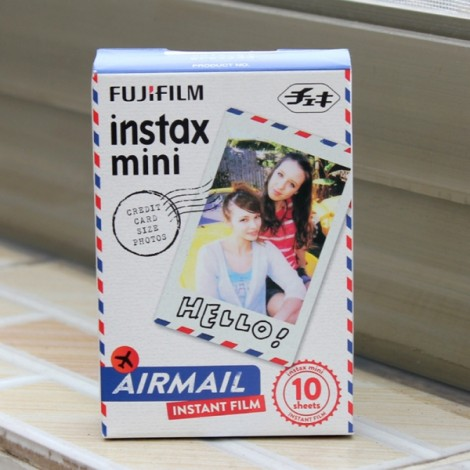 10 Sheets Fujifilm Fuji Instax Mini 7S/8/9/70/25/90 Camera Photo Paper - Airmail