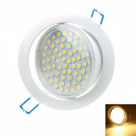 12W 66SMD 5050LED 3000-3500K 680-780LM Warm White Ceiling Lamp Tube Lamp (AC/DC 85-265V)
