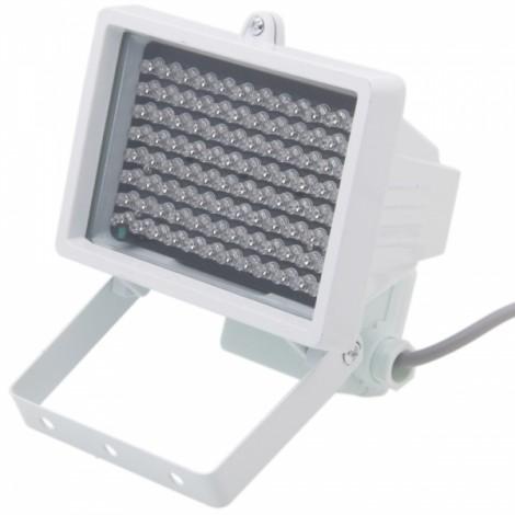 Φ8 96-LED Infrared Illuminator Lamp for CCTV Camera White