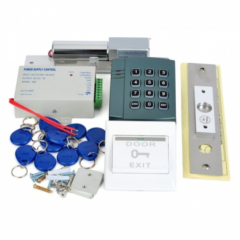 ST202 Single Door Access Controller Kit with EM ID Keys Grey