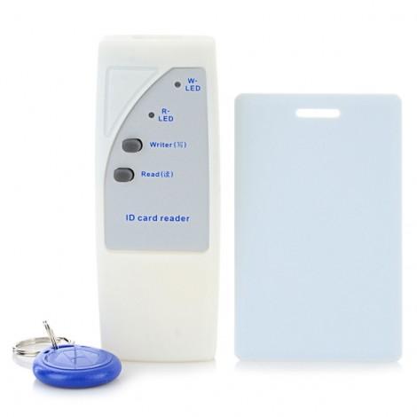 DT200 Portable 125KHz EM ID Card Duplicator with Locking Function Kit White & Blue