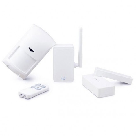BroadLink S1C Alarm Kit SmartOne Door Motion PIR Sensor Smart Home System Remote Control White