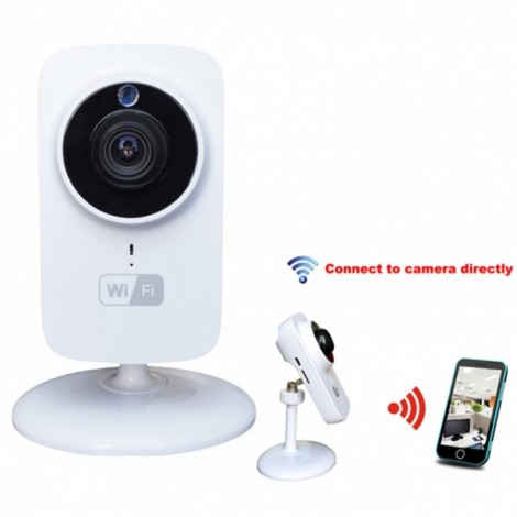 Mini IP Camera Wifi Micro SD CCTV Security Camera 720P Wireless Webcam Audio Surveillance HD Night Vision Cam Video Telecamera White