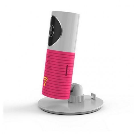 DOG-1W IR Night Vision 720P Wireless WiFi Security Audio Video IP Camera Monitor Pink