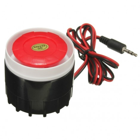 Mini Wired Siren for Wireless Home Alarm Security System SZC-2574