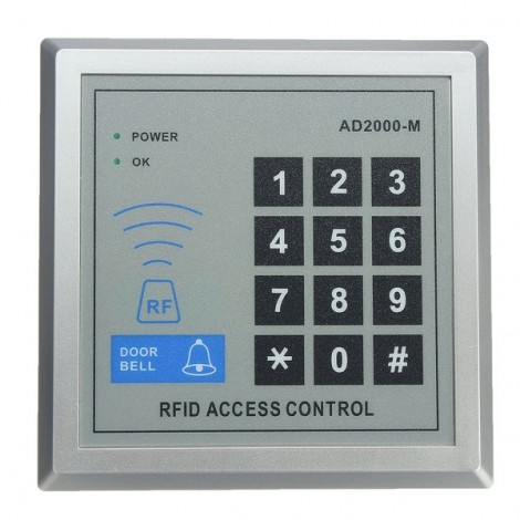 AD2000-M Security RFID Proximity Entry Door Lock Access Control System
