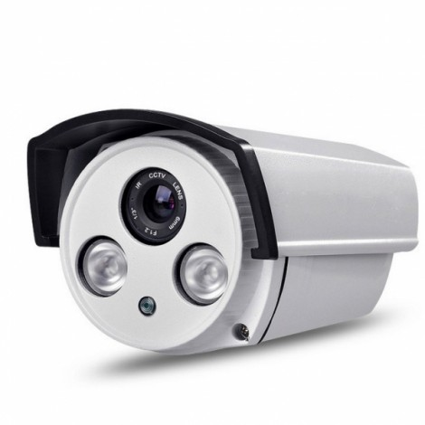 1.3MP 960P Night Vision ONVIF Security Camera System White