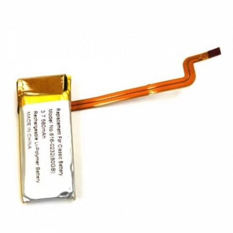 580mAh Battery for iPod Video 30GB