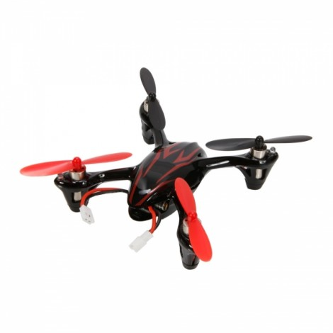 Hubsan X4 H107C Upgraded 2.4G 4 Channel RC Quadcopter With 2MP Camera RTF Red&Black