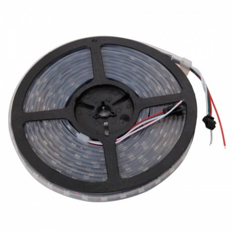5M 300-LED SMD5050 RGB Waterproof Flexible LED Light Strip 5V Black Board