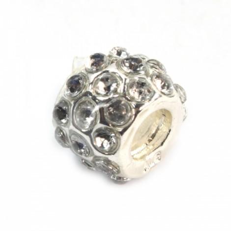 Silver Beads DIY Pendant