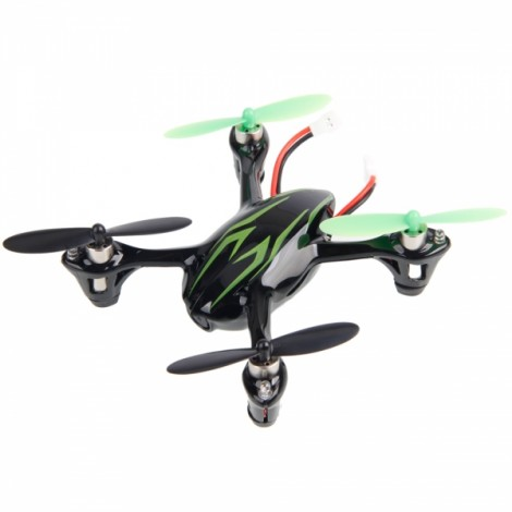Hubsan X4 H107C 2.4G 4CH RC Quadcopter With 0.3MP Camera RTF Black&Green