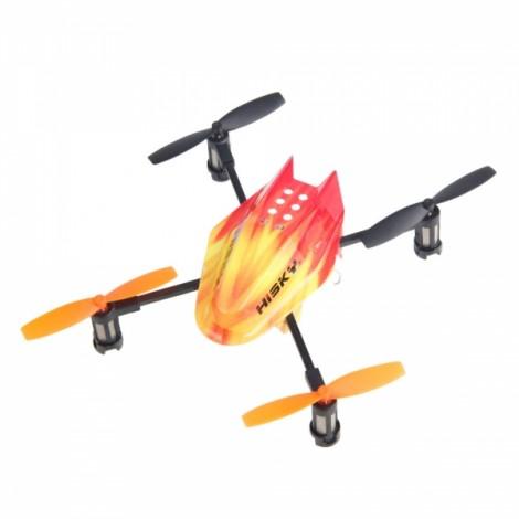 Hisky FF120 4 Axis 2.4GHz Remote Control RC Quadcopter ARF Orange