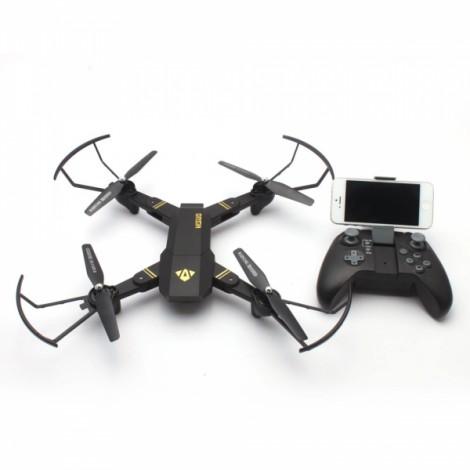 VISUO XS809W 2.4G Mini Foldable Pocket Drone WiFi FPV 0.3MP Camera Altitude Hold RC Quadcopter