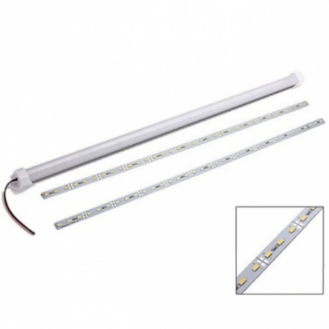 WS2812B 60-LED SMD5050 RGB Non-watertight Flexible LED Light Strip White Board (5V)