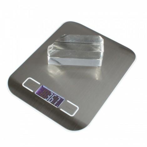 """5kg x 1g 1.7"""" Digital Weight Kitchen Food Diet Scale H318 White"""