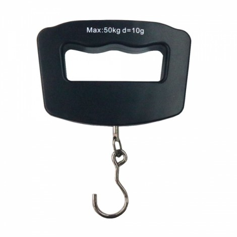 WH-A09 50kg/10g Portable Electronic Luggage Scale Hook Type