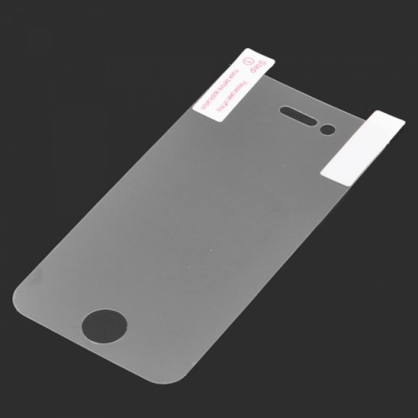 Glossy PET Screen Protector with Cleaning Cloth for iPhone 4/4S Transparent
