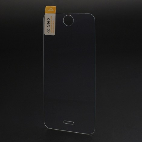 Shatter-proof HD Tempered Glass Front + Back Protector for iPhone 5/5S/SE/5C (Plastic Package) Transparent
