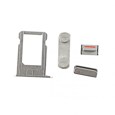 Replacement Part Vibrator Mute Button/Volume Button/Power Button/SIM Card Tray for iPhone 5