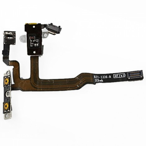 Audio Jack Flex Cable for Apple iPhone 4S