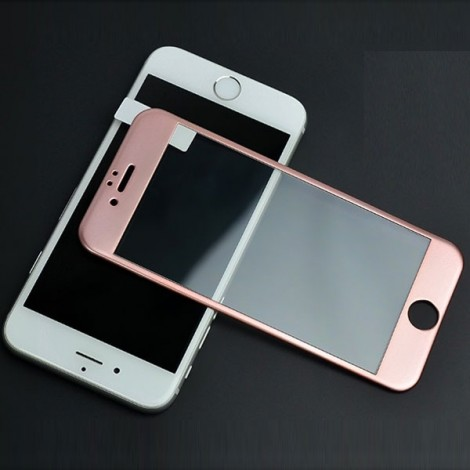 Nano Tempered Glass Screen Film for iPhone 6 Plus / 6S Plus Rose Golden